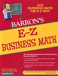 Barron's E-Z Business Math