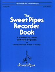 Sweet Pipes Recorder Book 1 for Soprano
