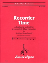 Recorder Time, Book 1 for Soprano