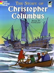 Story of Christopher Columbus - Coloring Book