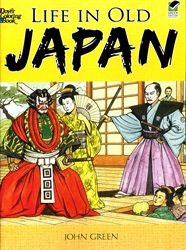 Life in Old Japan - Coloring Book