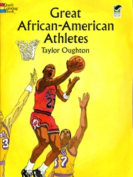Great African American Athletes - Coloring Book
