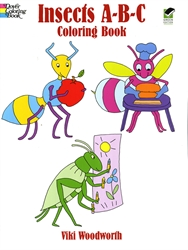 Insects A-B-C - Coloring Book