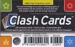 Latin for Children Primer A - Clash Cards