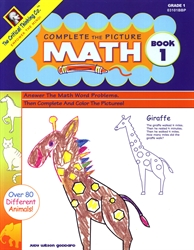 Complete the Picture Math Book 1 - Exodus Books