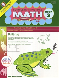 Complete the Picture Math Book 3