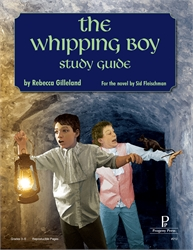 Whipping Boy - Progeny Press Study Guide