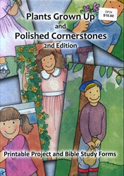 Plants Grown Up & Polished Cornerstones - CD-ROM