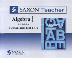 Saxon Algebra 1/2 - Teacher CD-ROM