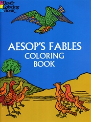 Aesop's Fables - Coloring Book