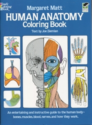 Human Anatomy - Coloring Book