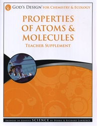 Properties of Atoms & Molecules - Teacher Supplement (old)