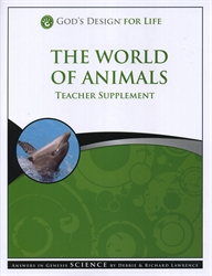 World of Animals - Teacher Supplement