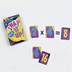 Snap It Up! Card Games—Math: Multiplication
