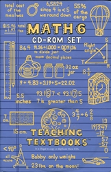 Teaching Textbooks Math 6 - CD-ROM