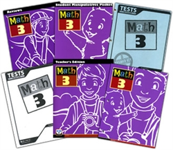 BJU Math 3 - Home School Kit