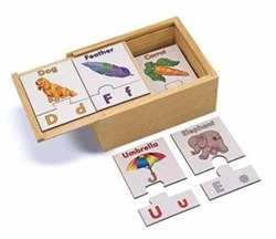 Alphabet Puzzle Cards - Exodus Books