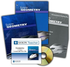Saxon Geometry - Home School Bundle with Teacher CD