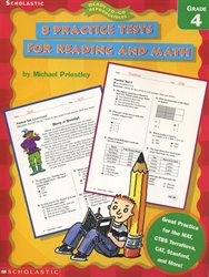 8 Practice Tests for Reading and Math Grade 4