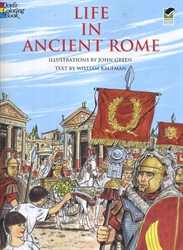Life in Ancient Rome - Coloring Book