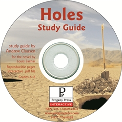 Holes - Study Guide CD