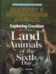 Exploring Creation with Zoology 3 - Notebooking Journal