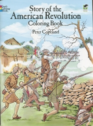 Story of the American Revolution - Coloring Book