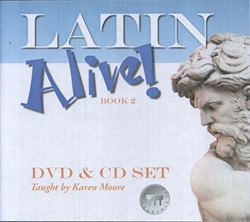 Latin Alive! Book 2 - DVD & CD set