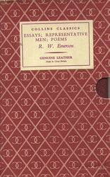 Essays; Representative Men; Poems