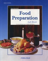 Food Preparation - Lab Book