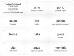 Latina Christiana Book I - Flashcards (old)