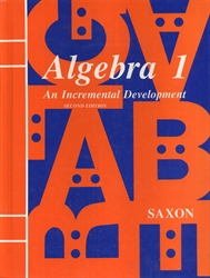 Saxon Algebra 1 - Textbook (old) - Exodus Books