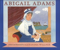 abigail adams book review Abigail adams was a tiny woman, little more than five feet tall, with dark hair,   book reviews by the sibling team of suzanne dobbins and craig maas  the  amount of information present in withey's book was refreshing.