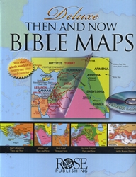 Deluxe Then and Now Bible Maps w/CD-Rom - Exodus Books