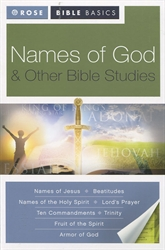 Names of God & Other Bible Studies - Exodus Books
