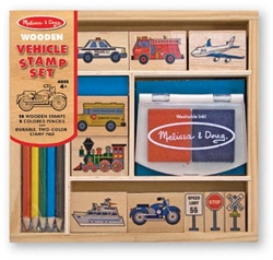 Vehicles Stamp Set - Exodus Books