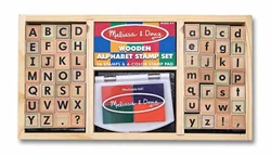 Alphabet Stamp Set - Exodus Books