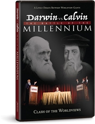 Darwin vs. Calvin - The Battle of the Millennium - Exodus Books