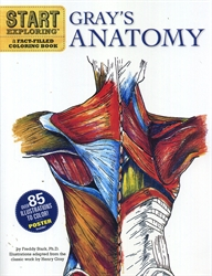 Gray's Anatomy Coloring Book - Exodus Books