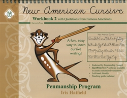 New American Cursive 2 with Quotations from Famous Americans
