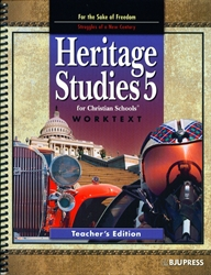 Heritage Studies 5 - Worktext Teacher Edition (old)