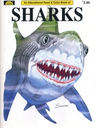 Sharks - Coloring Book