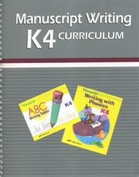 Manuscript Writing K4 Curriculum