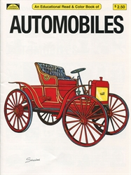 Automobiles - Coloring Book