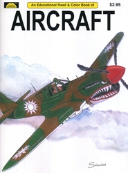 Aircraft - Coloring Book