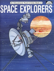 Space Explorers - Coloring Book
