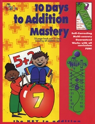 10 Days to Addition Mastery - Exodus Books