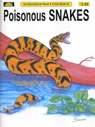 Poisonous Snakes - Coloring Book