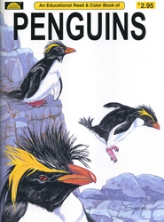 Penguins - Coloring Book