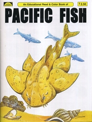 Pacific Fish - Coloring Book